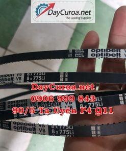 Dây curoa Mitsuboshi MBL 8x775Li