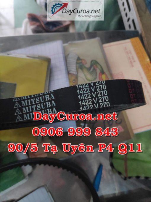 Dây curoa Mitsusumi Sanlux 1422V270-1