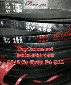 Dây curoa Mitsusumi Sanlux 3V450-2