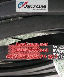 Dây curoa Mitsusumi Sanlux 8V62002440-1