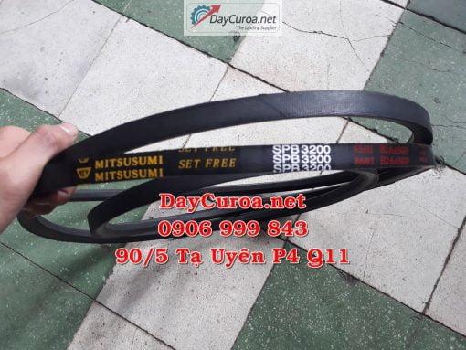 Dây curoa Mitsusumi Sanlux SPB3200