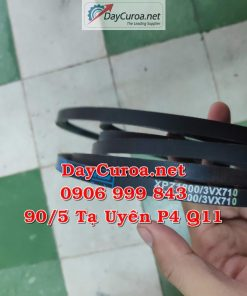 Dây curoa Mitsusumi Sanlux XPZ1800-3VX710-2